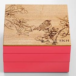 Personalized Nature's Beauty Modular Jewelry Box