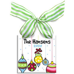 Festive Ornaments Personalized Ornament