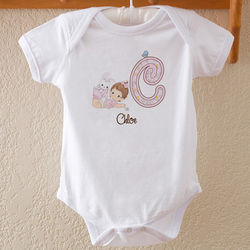 Precious Moments Personalized Baby Bodysuit