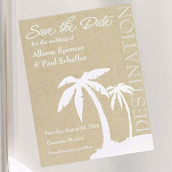 Destination Wedding Save the Date Magnets