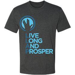 Star Trek Live Long and Prosper Crewneck T-Shirt