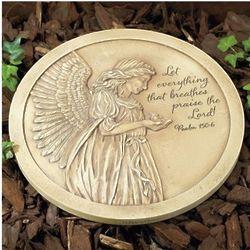 Praise the Lord Psalm Garden Stone