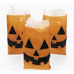 Jack-O'-Lantern Trick-or-Treat Bags