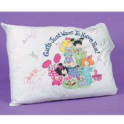 Slumber Party Autograph Pillow Case