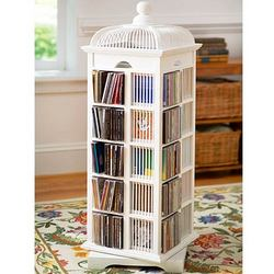 Bird Cage CD Storage