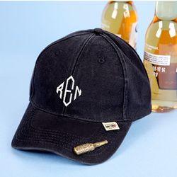 Baseball Cap and Bottle Opener