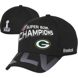Packers Super Bowl XLV Champions Locker Room Flex Fit Hat