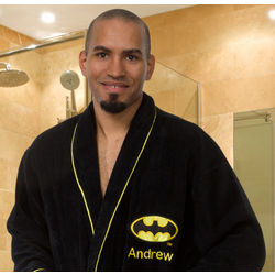Personalized Batman Bathrobe