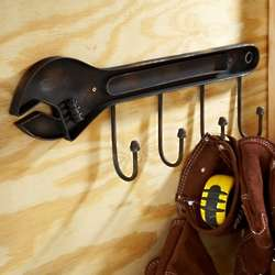 Manly Man Wrench Coat Rack