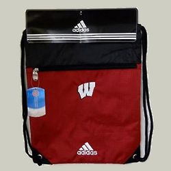 Wisconsin Logo Gym Sack