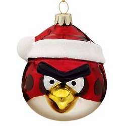 Red Bird Angry Birds Christmas Ornament