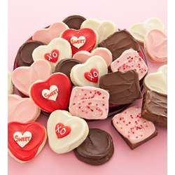 Valentine's Frosted Cookies and Brownies