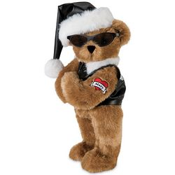 Rebel Santa Teddy Bear Stuffed Animal