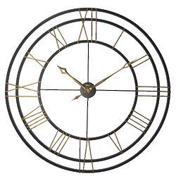 Wrought Iron Lehman Wall Clock