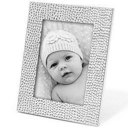 Silver Shimmer Baby Frame
