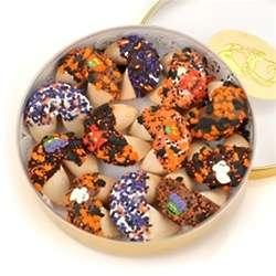 Halloween Wheel of Fortune Cookies