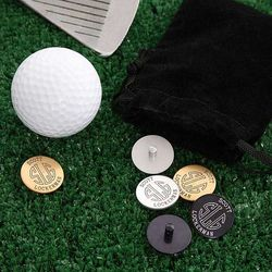 Monogrammed Golf Ball Markers