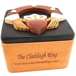 Claddagh Ring Trinket Box