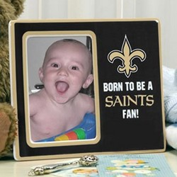 "New Orleans Saints ""Born To Be"" Ceramic Picture Frame"