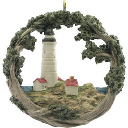Boston Light House AmeriScape Ornament