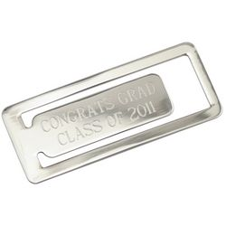 Engravable Congrats Grad Bookmark