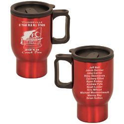 Custom Team Roster Mug