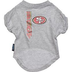 San Francisco 49ers NFL Pet T-Shirt