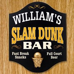 Slam Dunk Bar Custom Sign