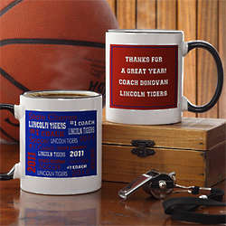 Sports Coach Personalized Coffee Mug