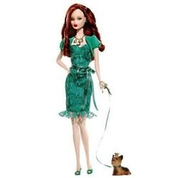 Miss Emerald May Barbie Birthstone Beauty