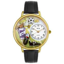 Soccer Player Watch with Miniatures