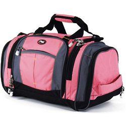 Pink Silverlake 22 Inch Multi-Pocket Duffel Bag