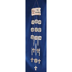 10 Commandments Wind Chime
