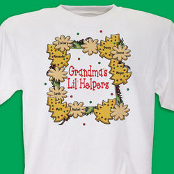 Lil' Christmas Helpers Personalized T-Shirt