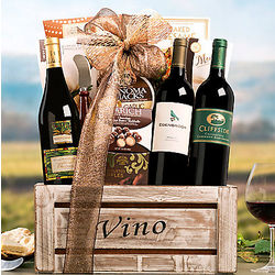 California Cabernet, Chardonnay and Merlot Gift Basket