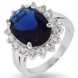 Kate Middleton Replica Sapphire Engagement Ring