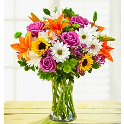Large Cheerful Blooms Bouquet