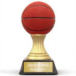 Personalized Basketball Trophy