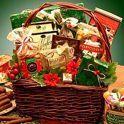 Joy To The Season Holiday Gift Basket