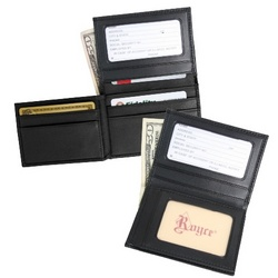 Double ID Flip Credit Card Wallet