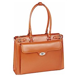 Italian Leather Ladies Briefcase