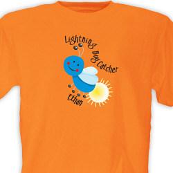 Personalized Lightning Bug Catcher T-Shirt