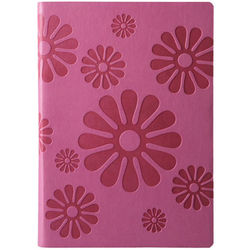 Pink Eccolo Floral Lined Journal