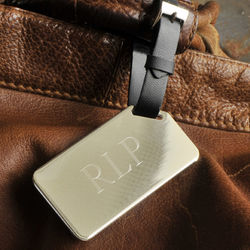 Personalized Vip Luggage Tag for Him