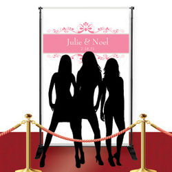 Custom Red Carpet Flourish Banner