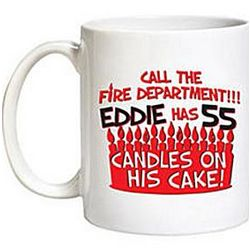 Candles on His/Her Cake Mug