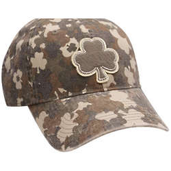 Camo Cap with Shamrock