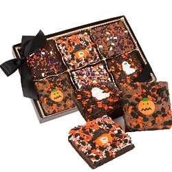 Halloween Triple Chocolate Brownie Box