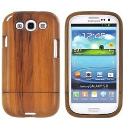 Eco-Design Samsung Galaxy S3 Hard Wood Sliding Cover Case