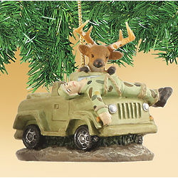 Hunter Season Ornament